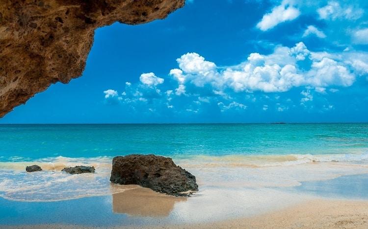 Elafonisi stranden op Kreta