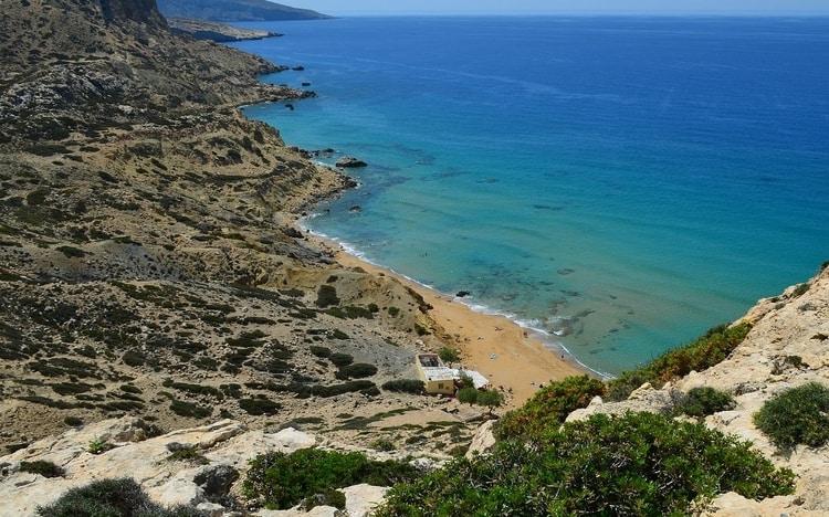 Kreta stranden Matala