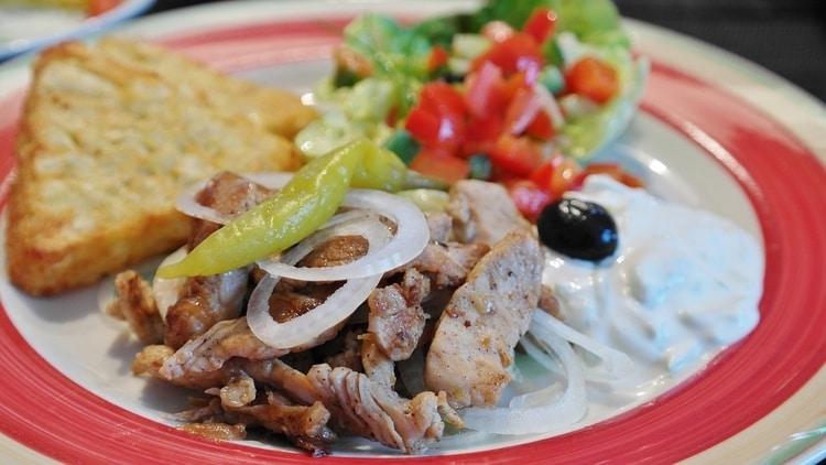 Tzatziki op Kreta eten