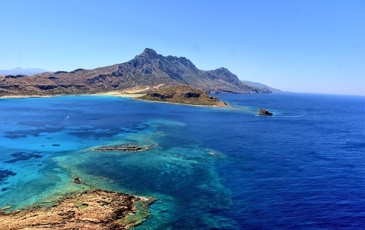 Balos Beach in Griekenland