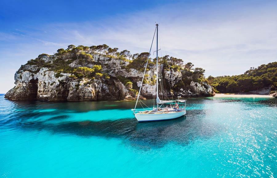 Boot excursie op Kreta