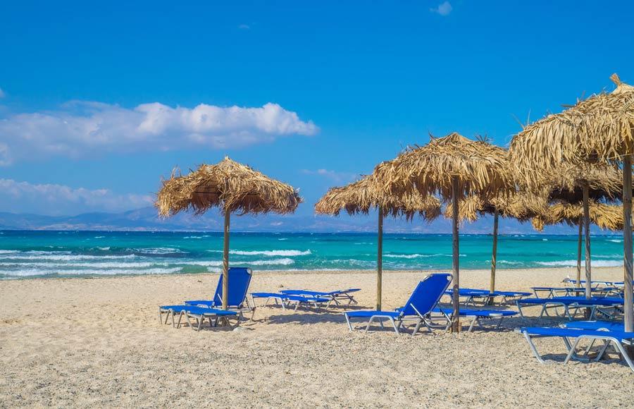 Chrissi beach op Kreta