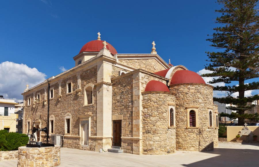 De kerk Agios Georgios in Ierapetra