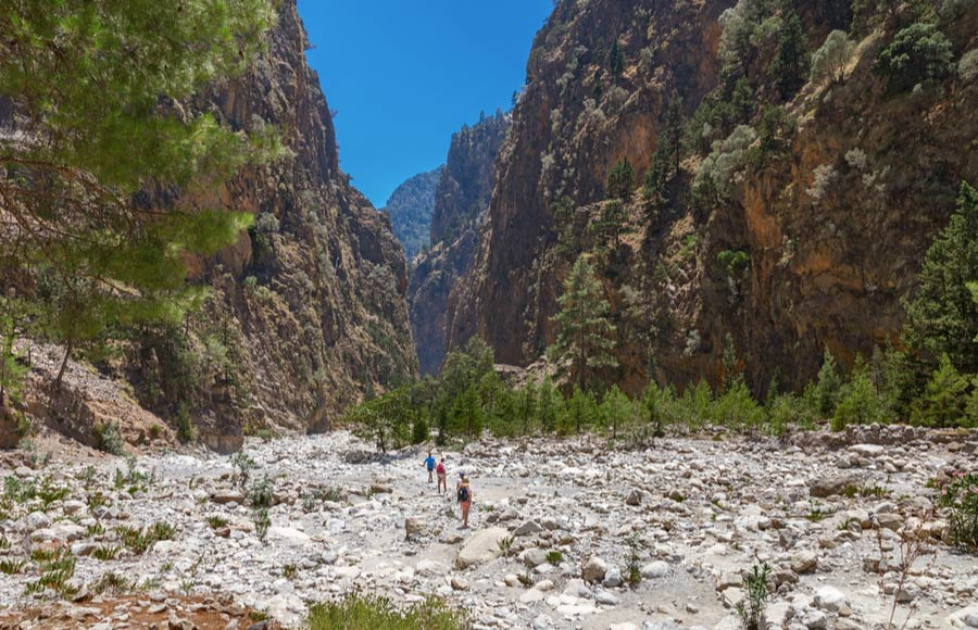 Excursie Samaria kloof op Kreta