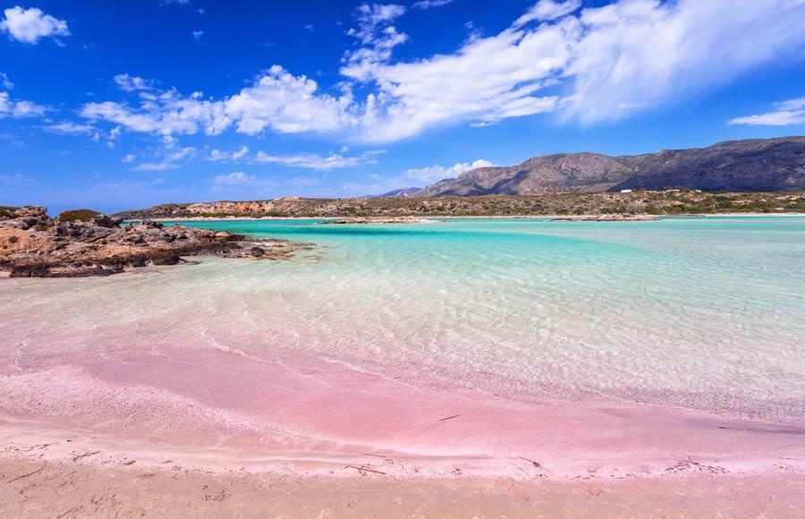 Elafonisi beach | pink beach
