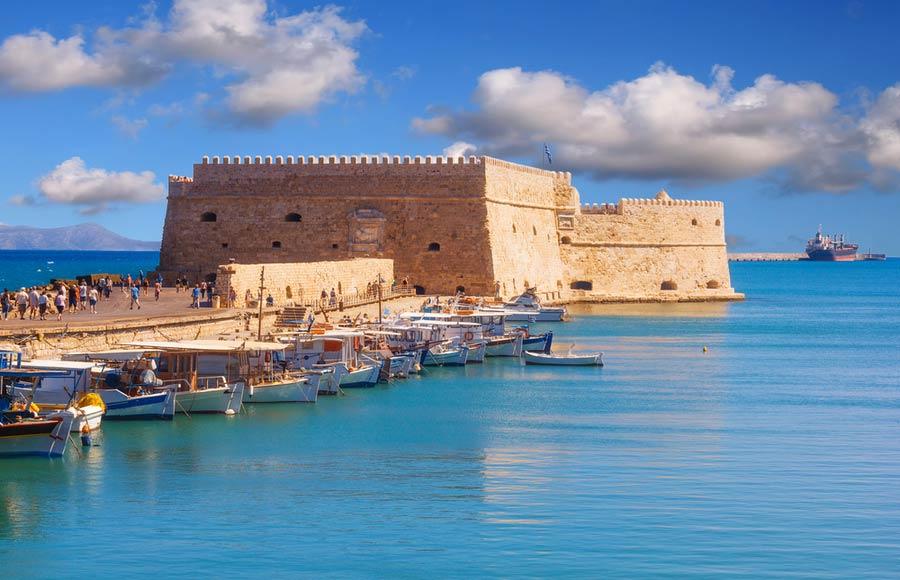 Het Venetiaanse fort Koule in Heraklion