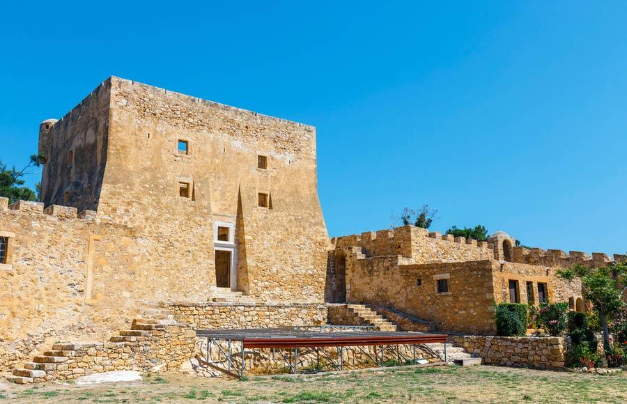 Het Venetiaanse fort Kazarma in Sitia