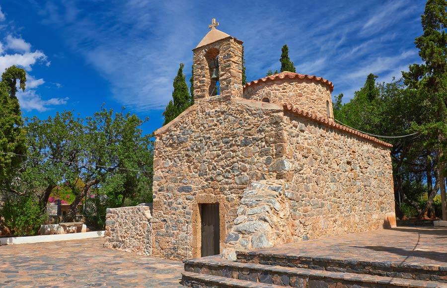 Kerkje in Agios Nikolaos