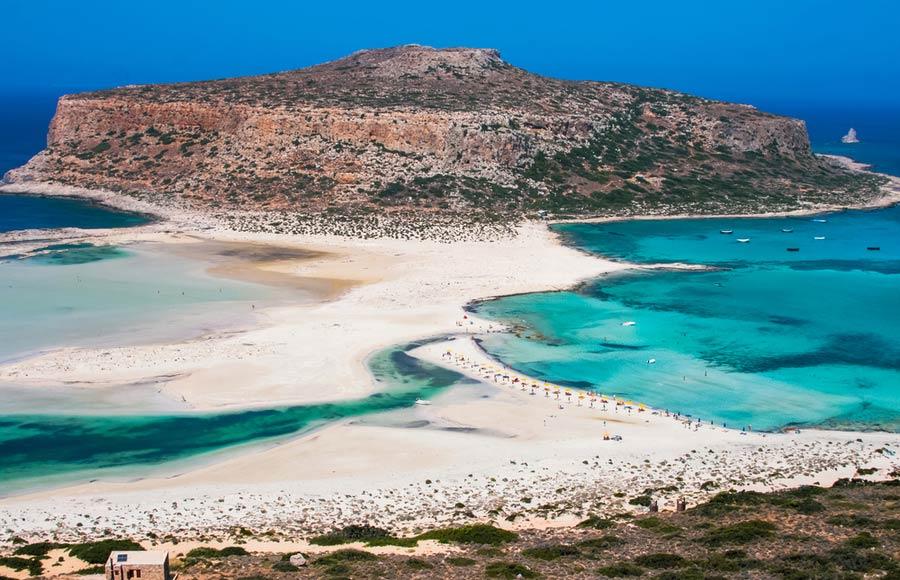 Strand van Balos op Kreta
