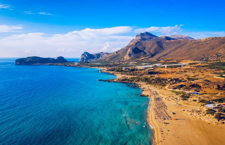 Vakantie Falasarna op Kreta