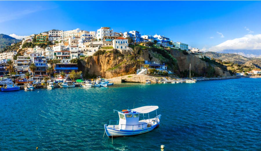 Vakantie naar Agia Galini op Kreta