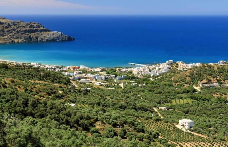 Vakantie Plakias op Kreta
